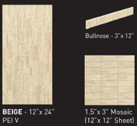 bambu beige ceramic porcelain floor tile