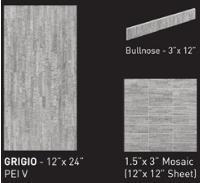 bambu grigio ceramic porcelain floor tile