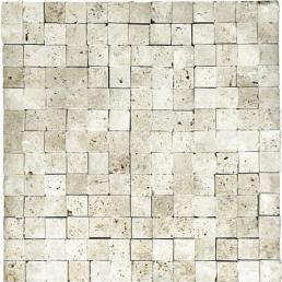 durango splitface travertine stone mosaic