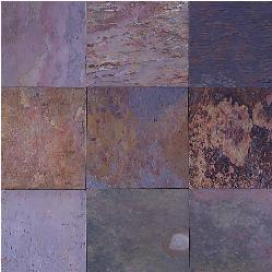 kund multicolor slate floor tile