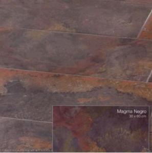 magma negro tile room scene