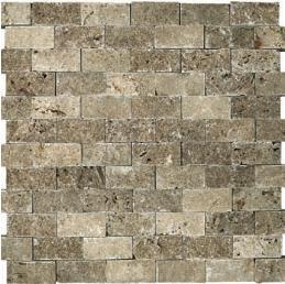 noce splitface travertine stone mosaic