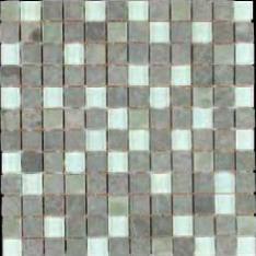 bass straight stone mosaic bluestone glass 1x1