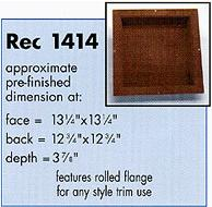 recessit 1414 Shower Shelf for tile