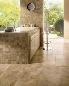 laredo walnut floor tile room scene