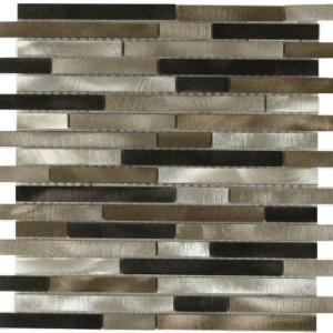 Victoria Metals Falls Creek Metal Mosaic Tile By