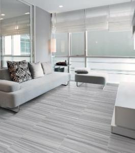 Krea Silver tile room
