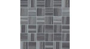Krea Black floor tile mosaic