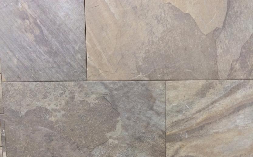 Overseas Grey Slate Look Porcelain Tile Natural Stone Amp Tile
