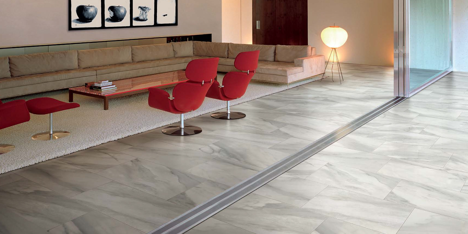 Natural Stone Tile In Mn Bardiglio Tile By Happy Floors