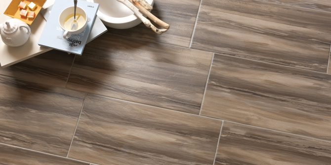Paint Stone Brown tile Happy Floors