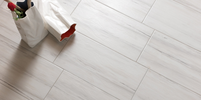 Paint Stone White tile Happy Floors