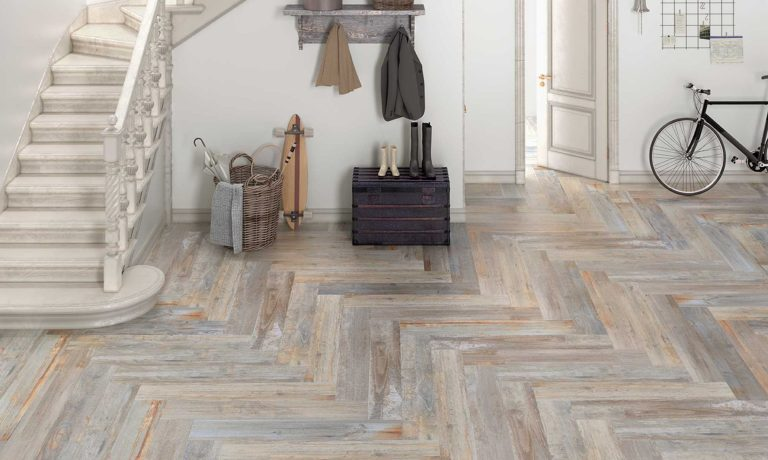 Kiruna Beige Grey wood look tile