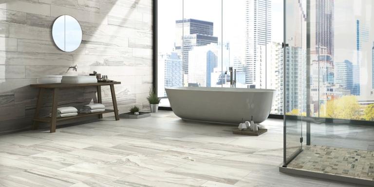 Exotic stone arctic happy floors