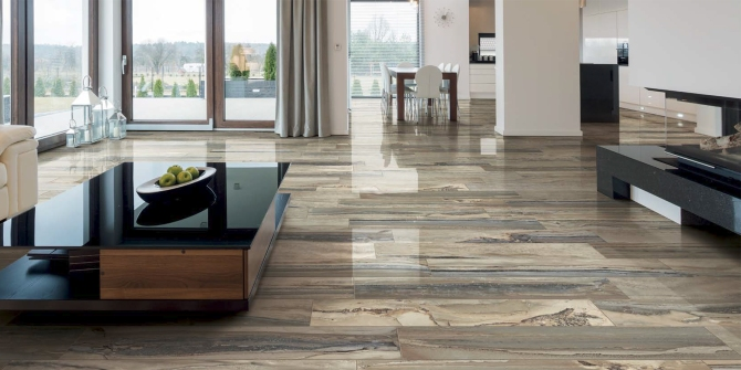 Exotic stone tundra happy floors