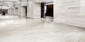 Onyx Milk tile by Happy Floors
