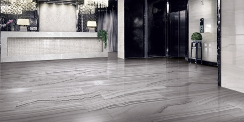 Onyx Silver tile Happy Floors