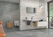 Burlington gris marengo bathroom