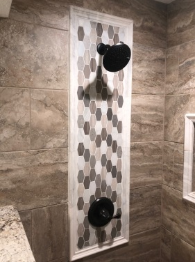 Vinci Beige travertine-look porcelain tile